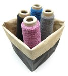 Yarn Box Small black beige